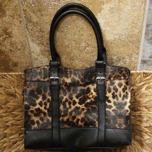 Leopard print Bueno handbag